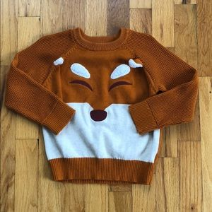 Cat & Jack Fox Sweater